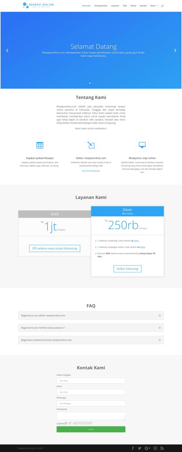 desain web resepsionline.com